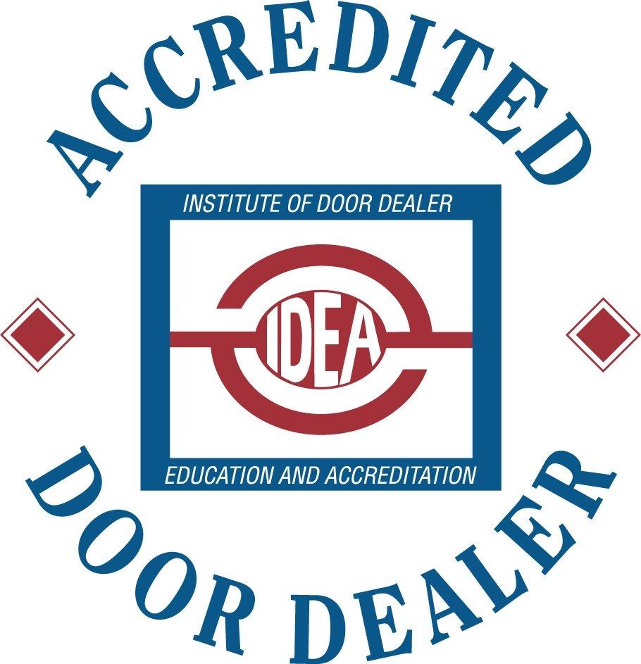 Institute of Door Dealer Education and Accreditation (IDEA) logo - Mckee Horrigan Inc. Mississauga