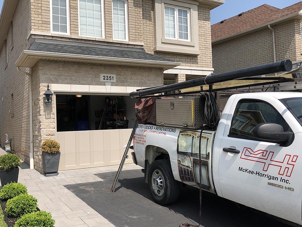 Residential Garage door Mckee law Horrigan Inc. Mississauga