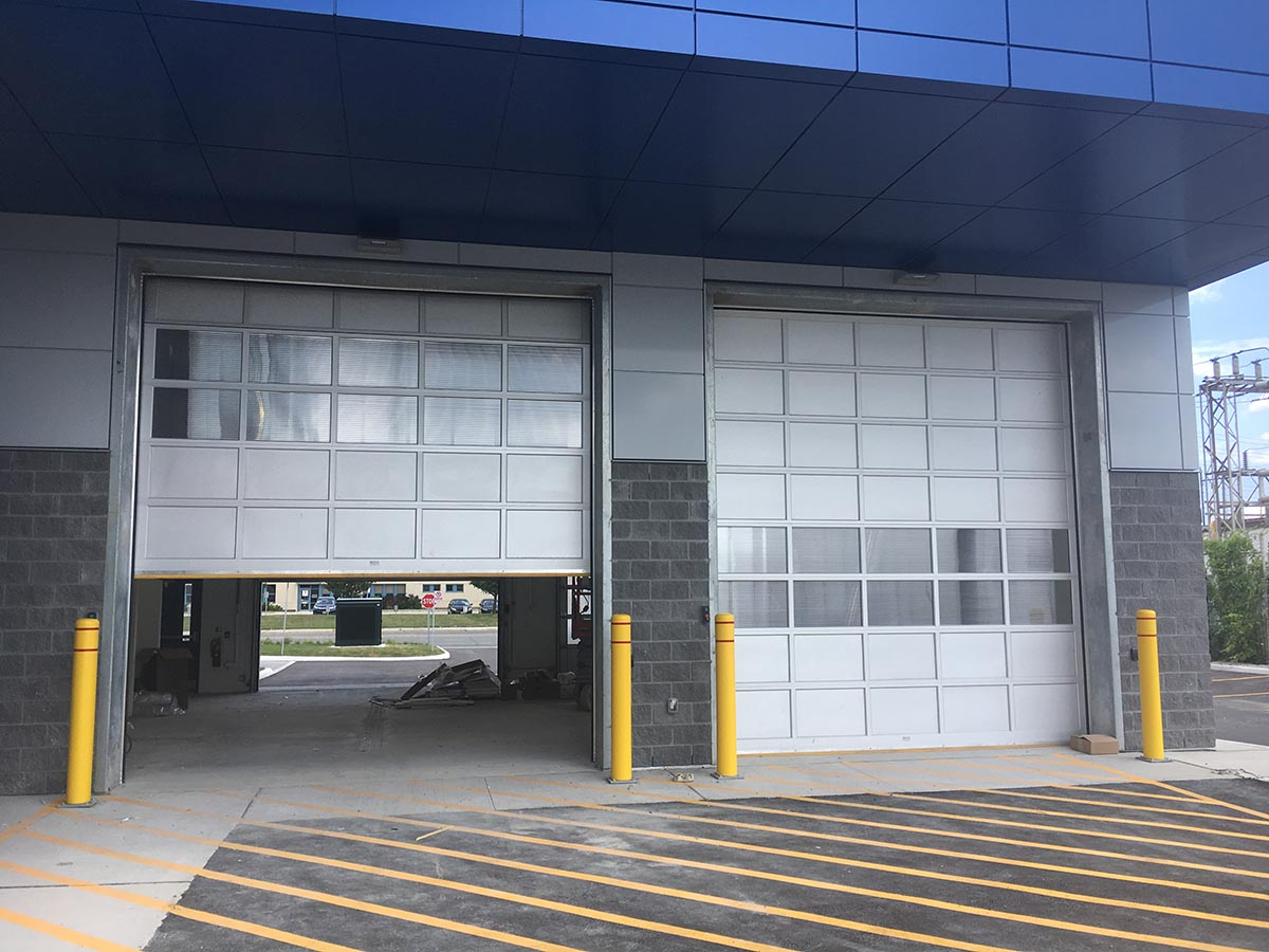 Industrial Garage door - Mckee law Horrigan Inc. Mississauga